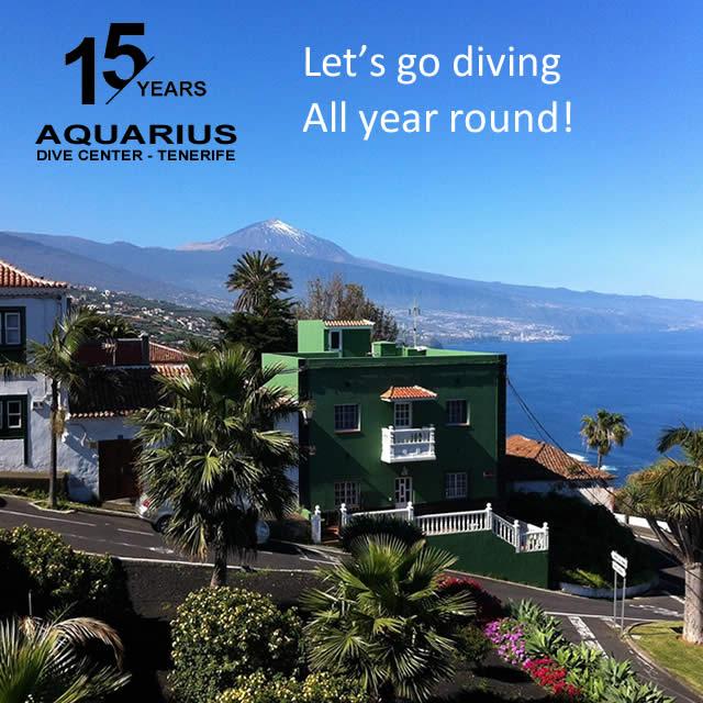 15 years aquarius dive center