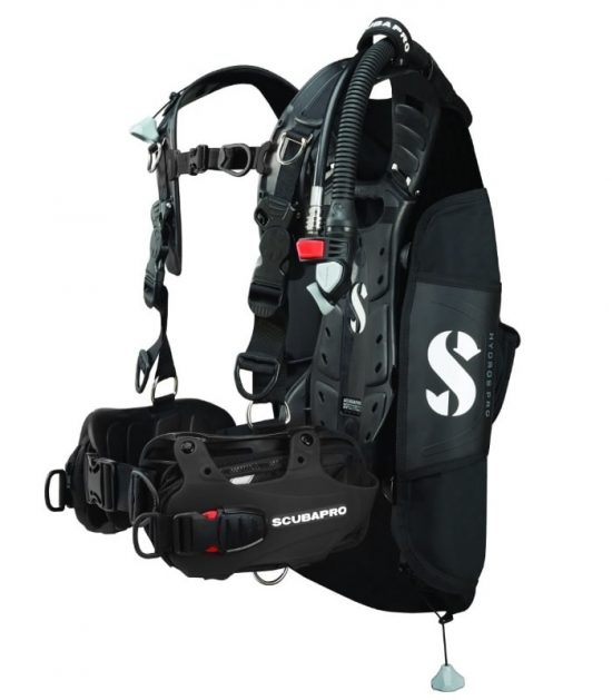 Hydros Pro black scubapro