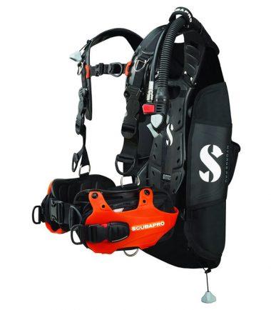 Hydros Pro orange scubapro