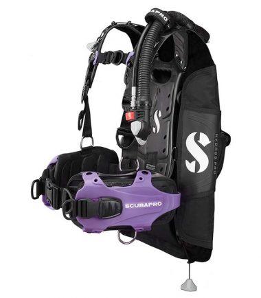Hydros Pro purple scubapro