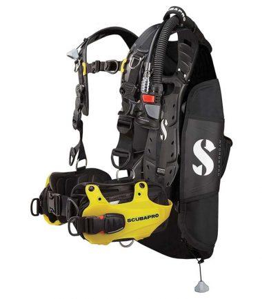 Hydros Pro yellow scubapro
