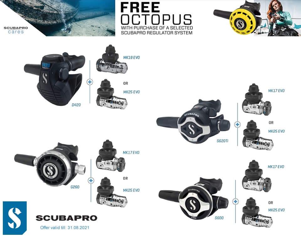 Scubapro FREE Octopus
