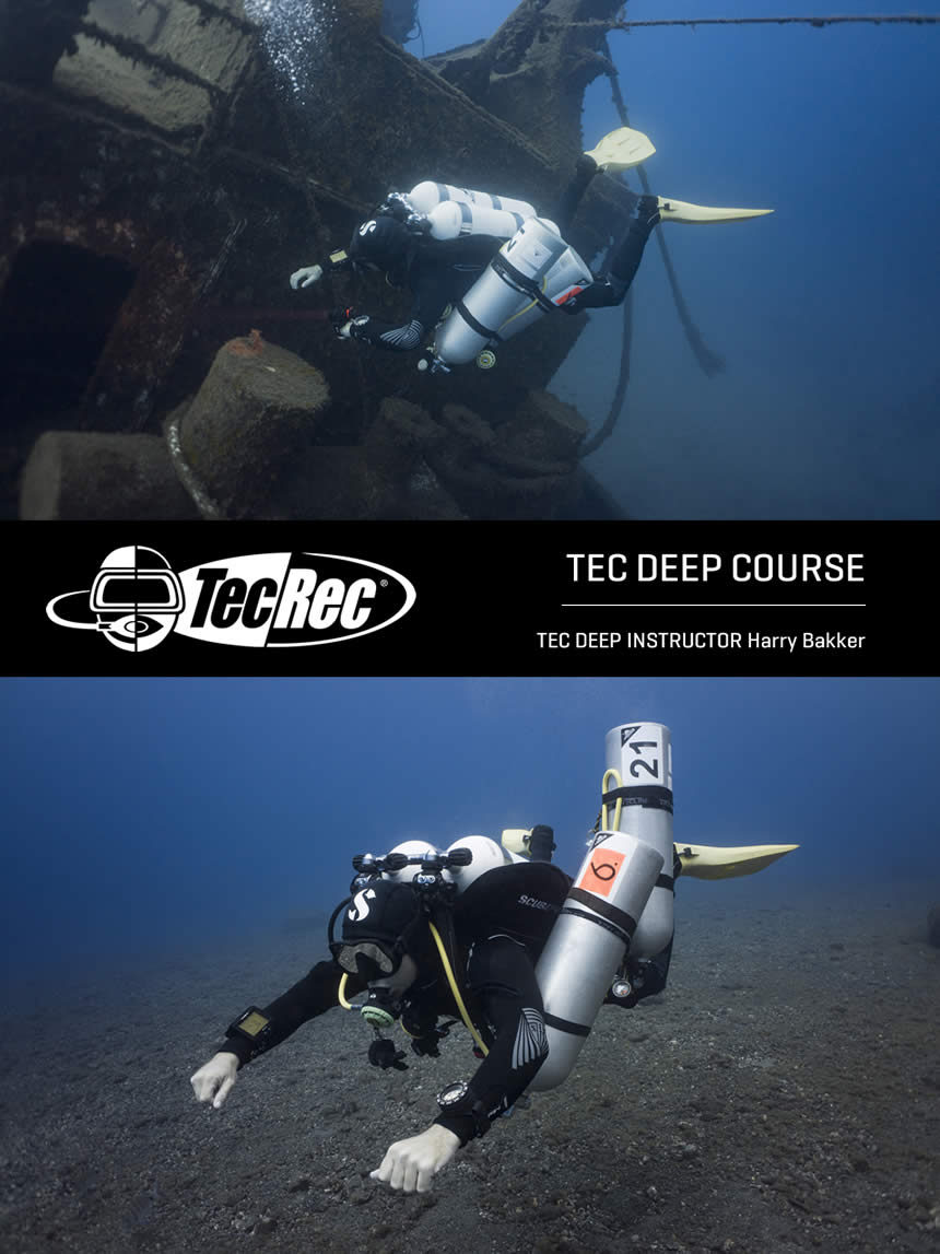 Tec deep 40, 45 and 50 course Tenerife