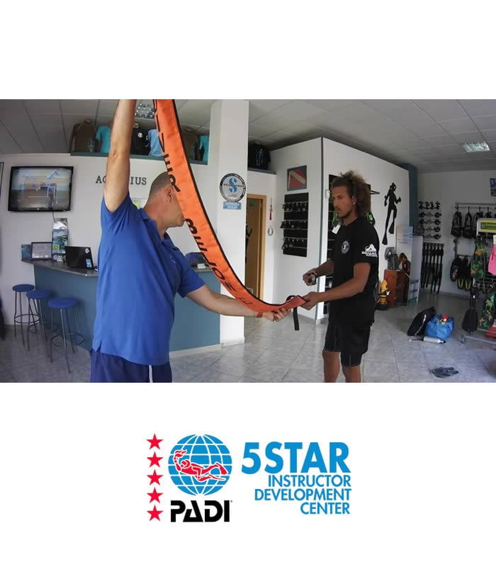 padi assistant instructor tenerife