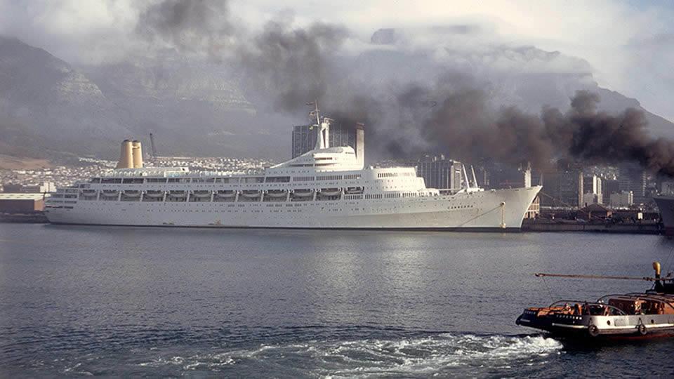 canberra ocean liner
