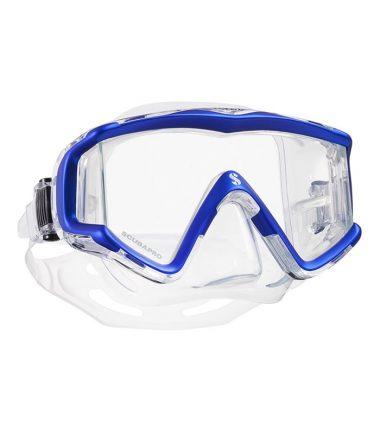 crystal vu blue scubapro mask