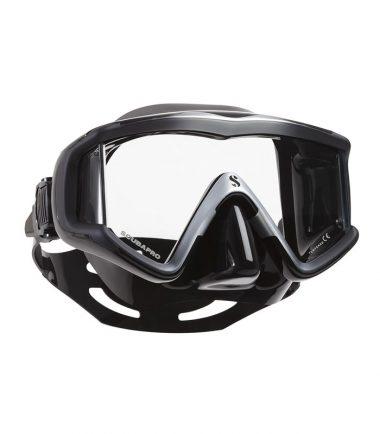 crystal vu silver scubapro mask
