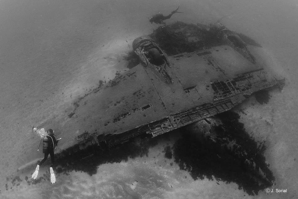 dc 3 airplane wreck