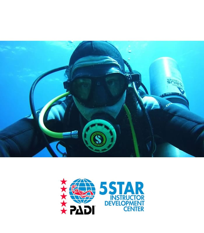 deep diver scuba diving training padi tenerife