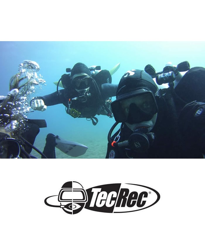 discover tec diving technical padi dsat Tenerife