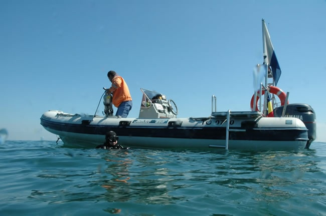 our dive-boat RIB