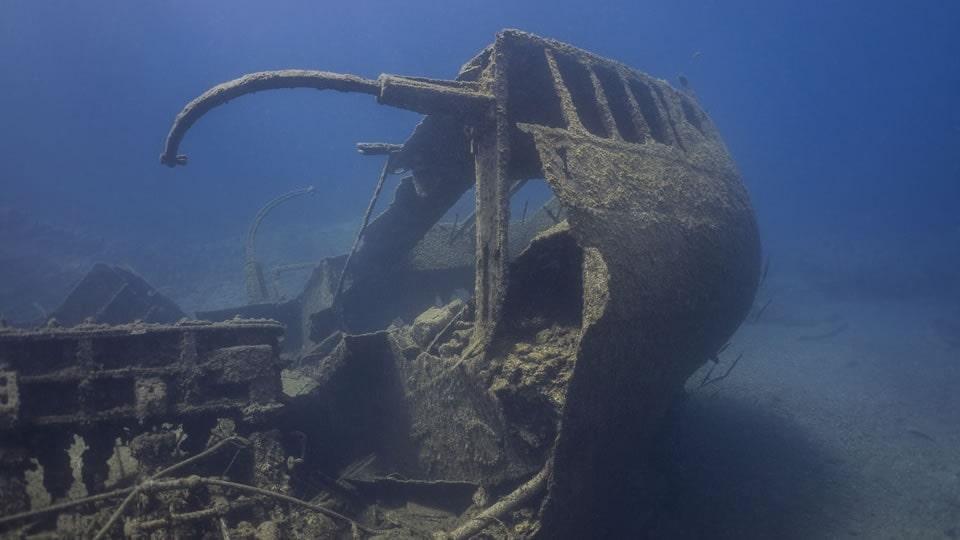 wreck diving tenerife