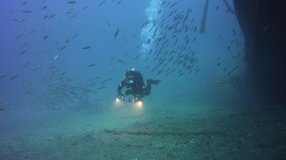wreck diving tenerife