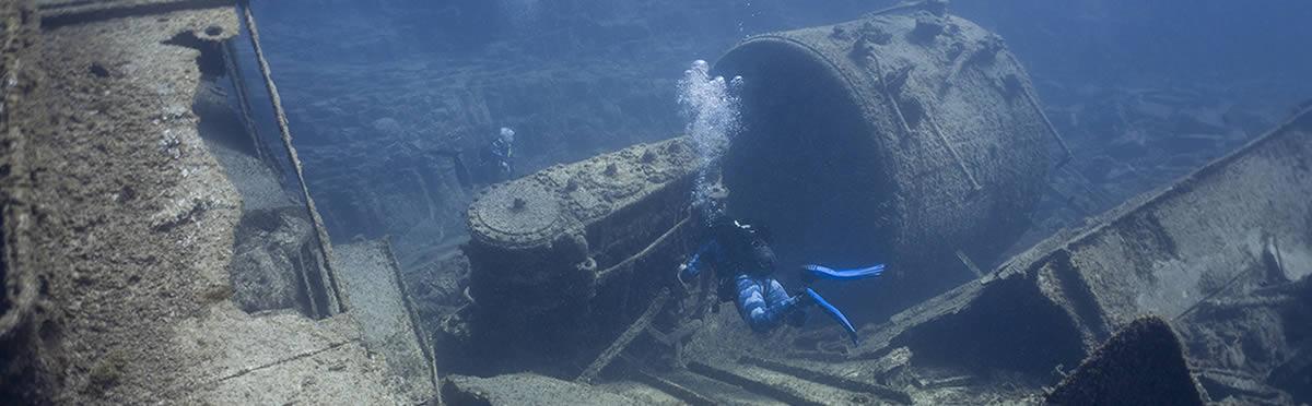 wreck diving tenerife el condesito