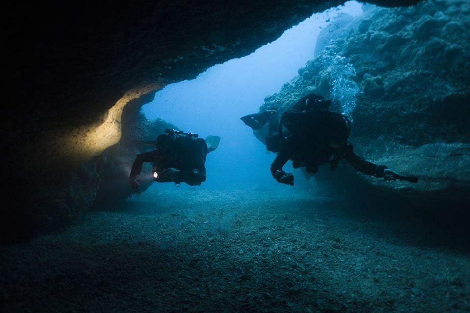 diving tenerife marazul the arch