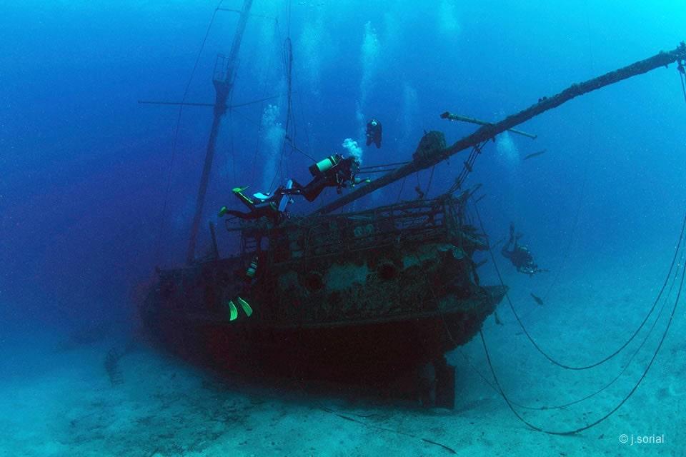 el meridian wreck