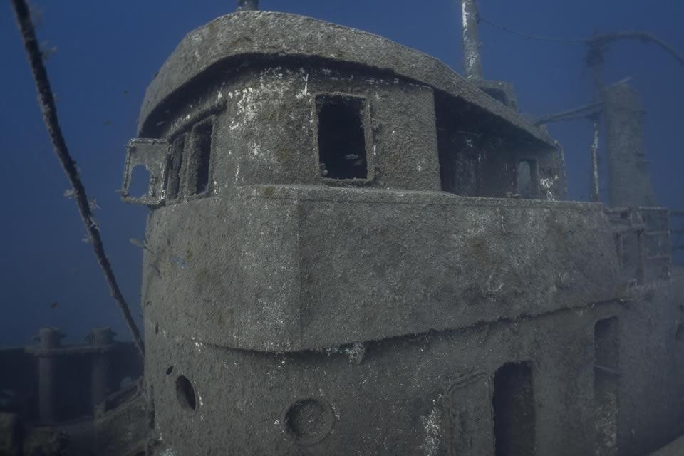el penon wreck