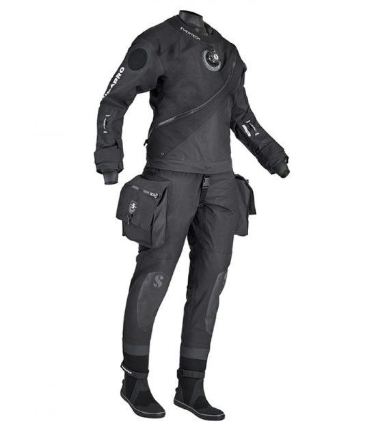 evertech dry breathable lady dry suit scubapro