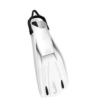 go sport white scubapro fin