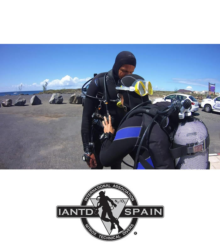 iantd advanced diver training course tenerife