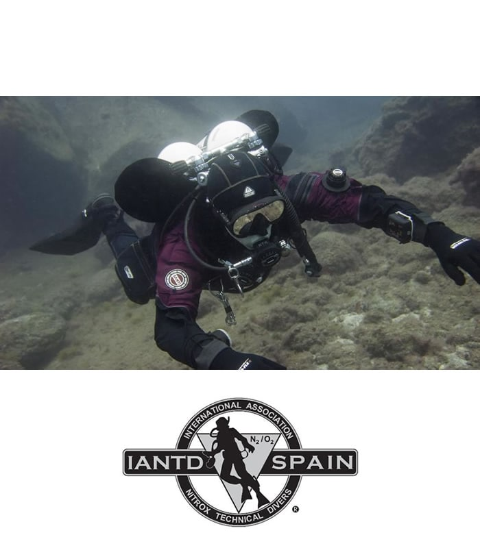 iantd dive master training tenerife