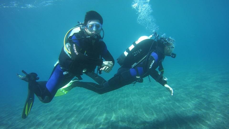 iantd open water eanx diver