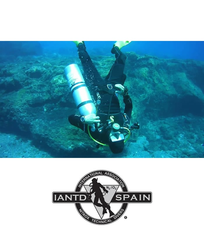 iantd self sufficient diver tenerife