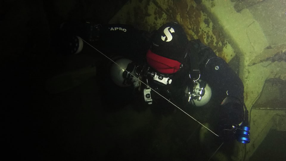 iantd wreck diver course