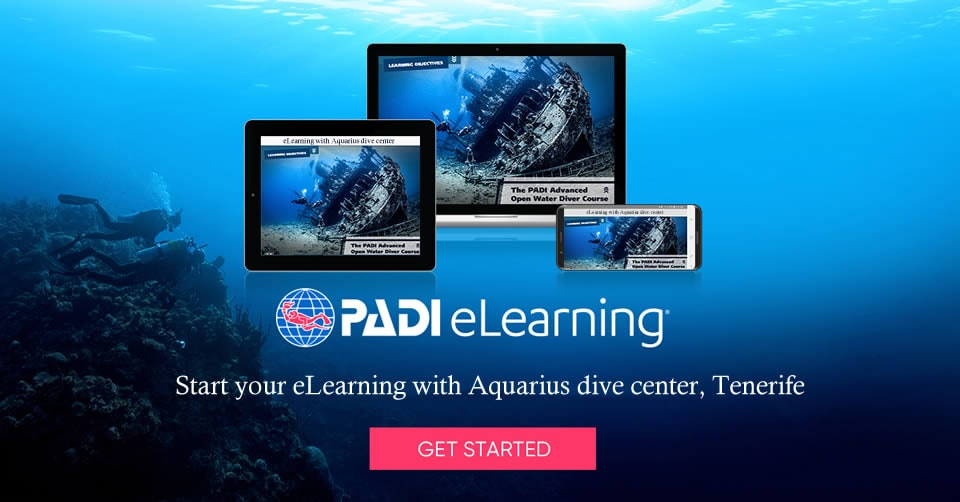 padi course prices eLearning tenerife