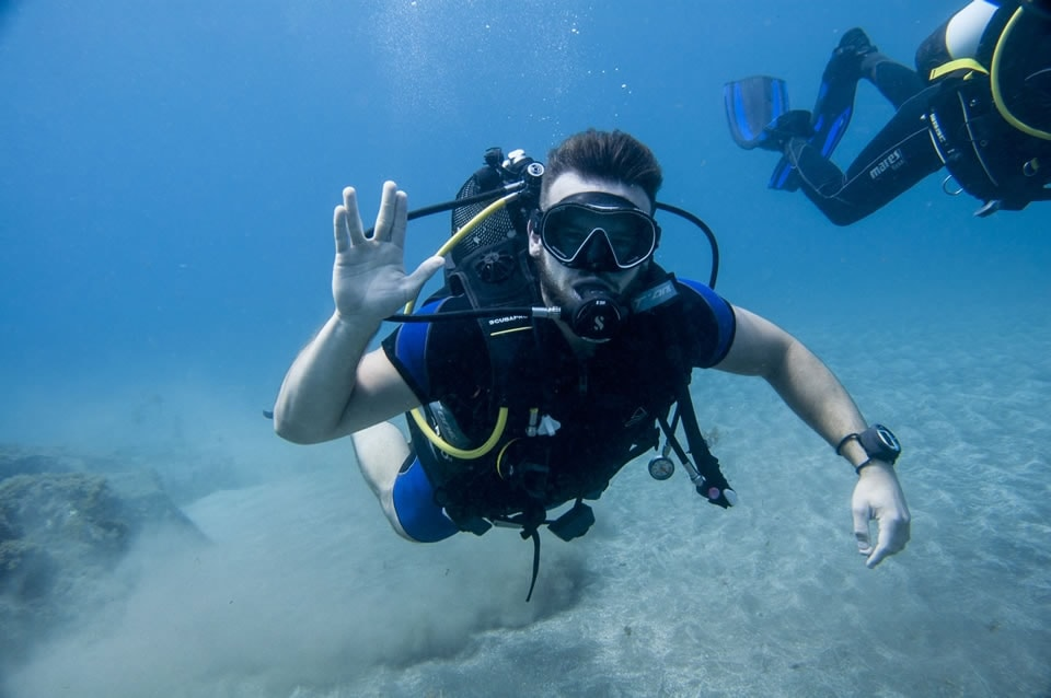 padi open water diver course tenerife