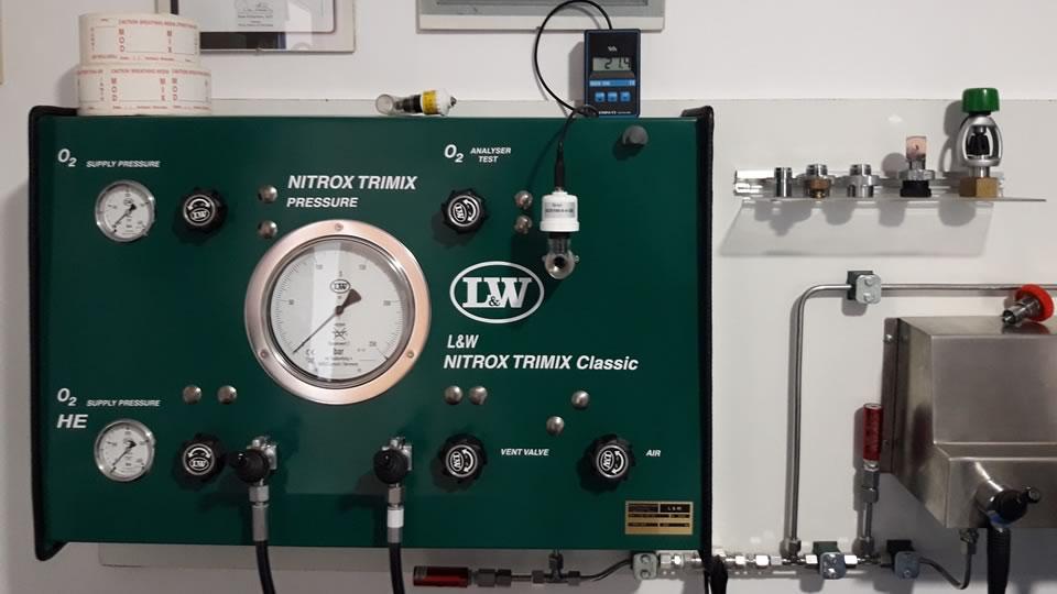 air refill price nitrox and trimix tenerife