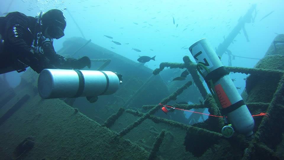 padi wreck diver course tenerife