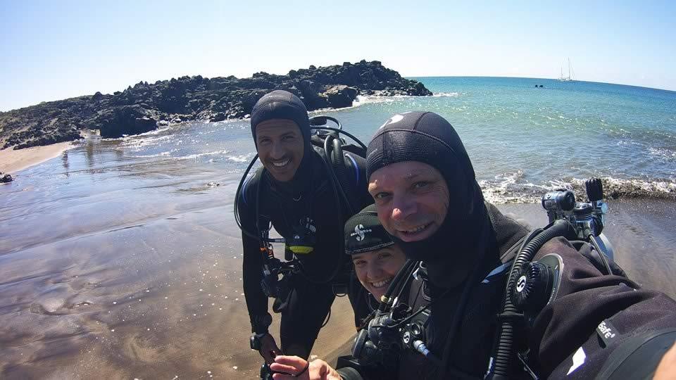 rescue diver tenerife