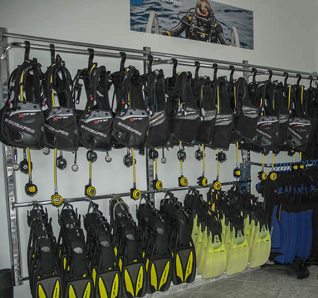 scubapro s.e.a. dive center