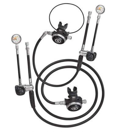 scubapro sidemount regulator kit