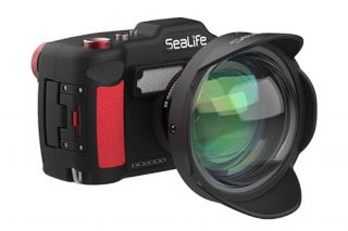 sealife dc2000 and wide angle dome lens