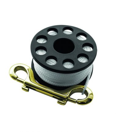 spool brass double ender scubapro