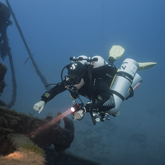technical diving tenerife
