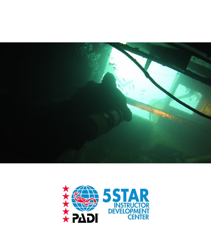 wreck diver padi tenerife