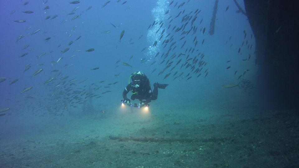 wreck diving tenerife el penon