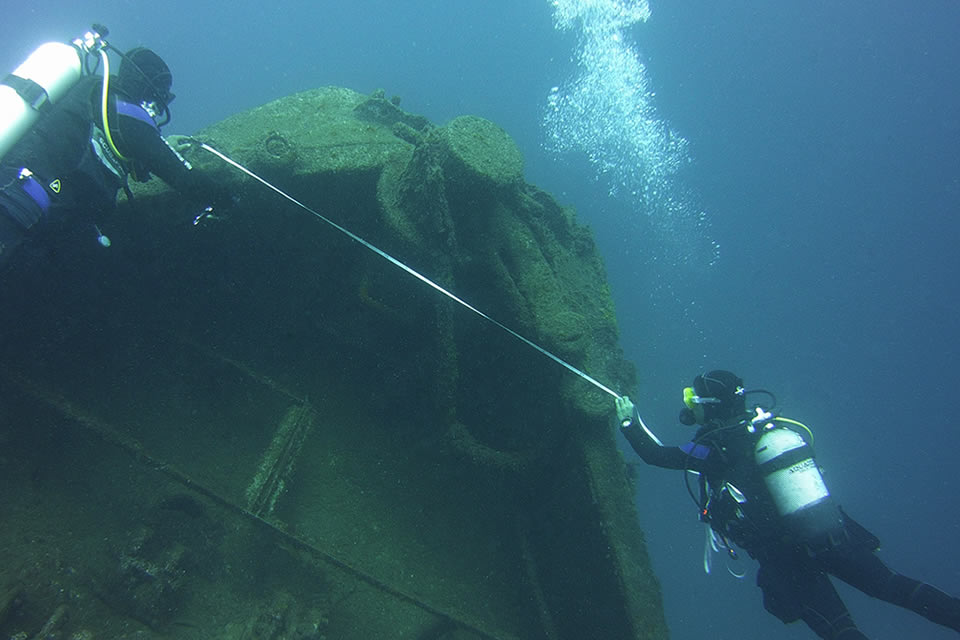 wrecks mapping project el penon