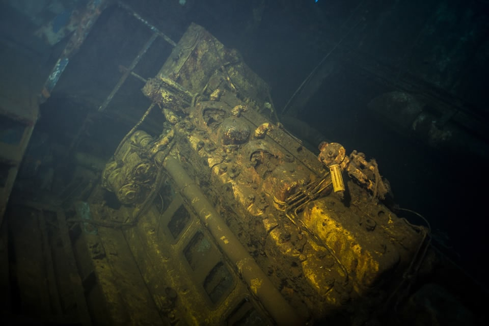 wrecks mapping project engine el penon